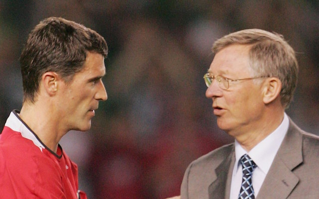 Ex-Man Utd star Roy Keane and Sir Alex Ferguson have awkward airplane meeting