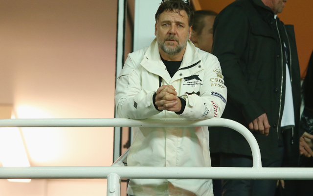 Russell Crowe says South Sydney Rabbitohs caused marriage break-up