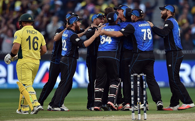 (Video) Australia v New Zealand: Aaron Finch falls for a duck in Cricket World Cup Final
