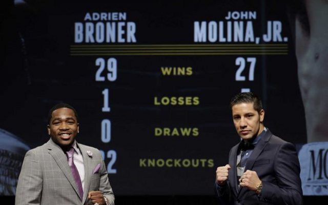 Adrien Broner vs John Molina: Fight time, preview and live stream