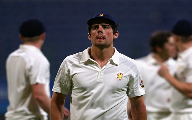 England skipper Alastair Cook lasts just six balls on return to first-class cricket
