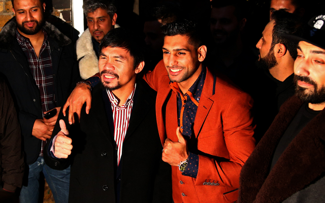 Boxing news: Amir Khan wants Manny Pacquiao to 'man up' and fight him