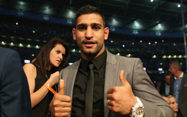 (Video) Boxing news: Amir Khan still chasing Floyd Mayweather despite retirement