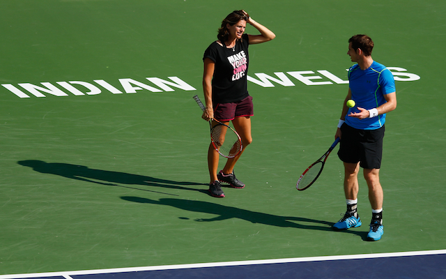 Andy Murray slams criticism of coach Amelie Mauresmo in Twitter tirade