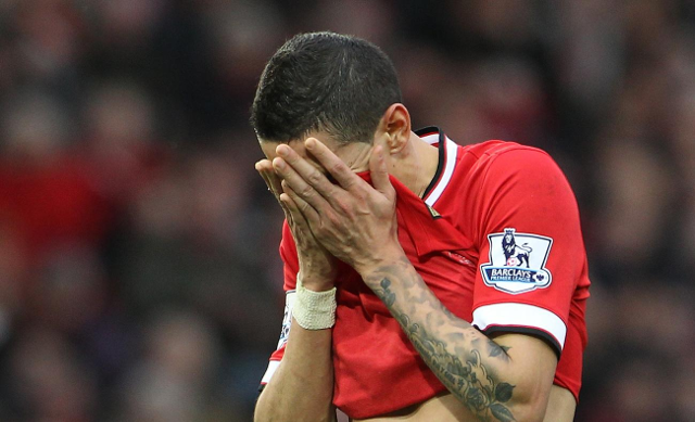 Angel Di Maria's transfer value falls by £10m after awful season at Man United