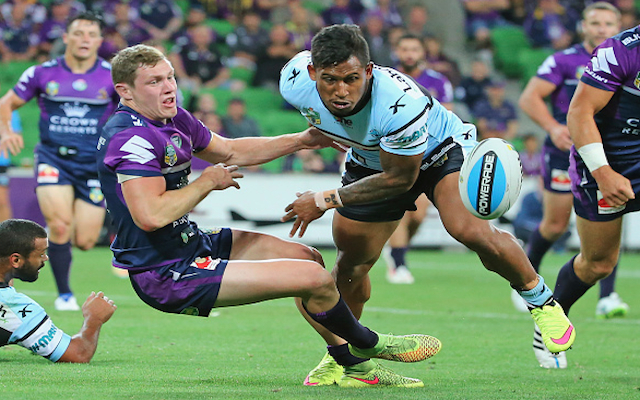 Cronulla Sharks star Ben Barba receives NRL ban following two separate incidents against Melbourne Storm