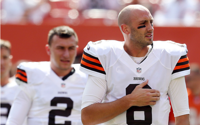 Former Cleveland Browns QB Brian Hoyer to sign with Houston Texans
