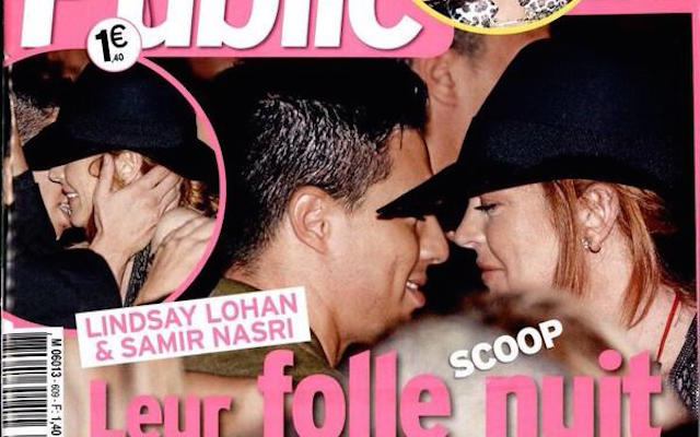 Samir Nasri accused of cheating on girlfriend with Hollywood actress Lindsay Lohan by French tabloids