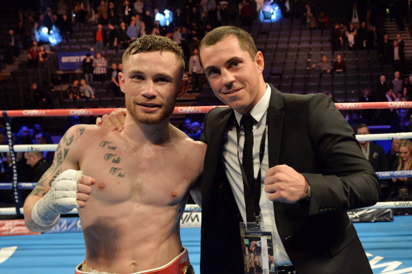 Boxing news: Scott Quigg and Carl Frampton exchange words at heated press conference (video)