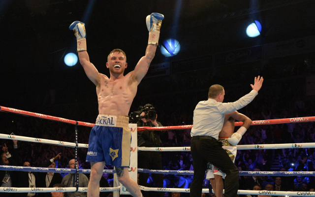 (Video) Carl Frampton puts on a devastating show in win over Chris Avalos