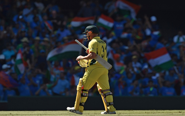 (Video) Australia v India: BIG WICKET! David Warner gone for just 12, Australia in early trouble!