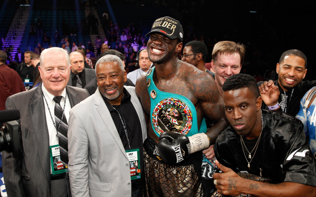"Boxing news: Anthony Joshua eyes Deontay Wilder title shot ""sooner rather than later"""
