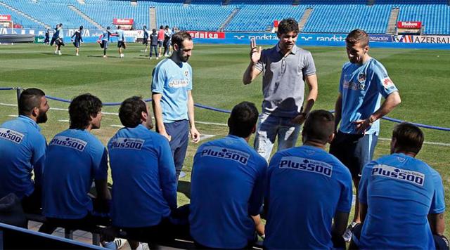 Diego Costa Atletico visit
