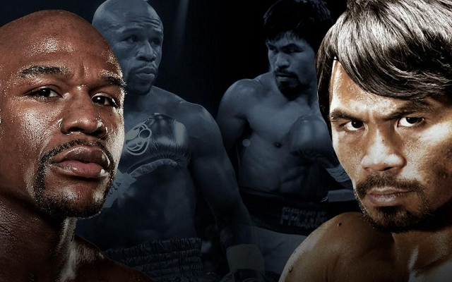 (Video) Floyd Mayweather vs Manny Pacquiao: Rivals go head-to-head at press conference