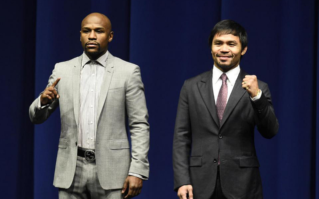 (Video) Floyd Mayweather makes his MGM Grand entrance ahead of Manny Pacquiao super fight