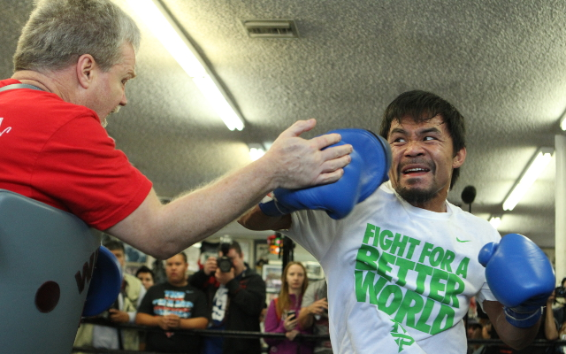 Boxing news: Floyd Mayweather 'has made Manny Pacquiao mad' says trainer