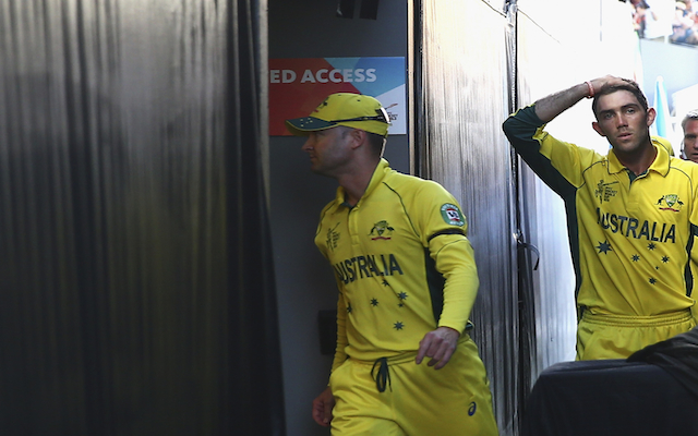(Video) Cricket World Cup 2015: 'Choking' gesture backfires on Australia batsman Glenn Maxwell against New Zealand