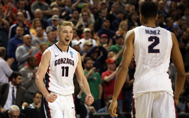 (Video) NCAA March Madness 2015: #2 Gonzaga dominates #7 Iowa to make first Sweet 16 in 6 years