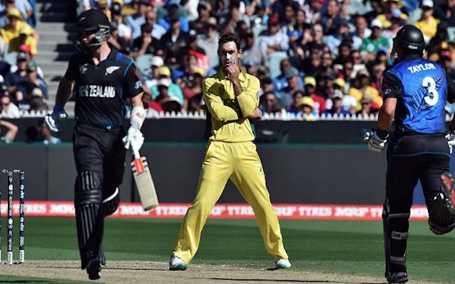 (Video) Australia v New Zealand: Kiwi semi-final hero Grant Elliott saved by DRS following LBW call