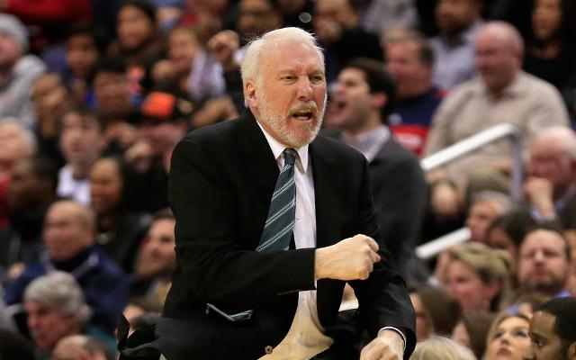 "(Video) NBA news: San Antonio Spurs coach Gregg Popovich rips ""pathetic"" performance"