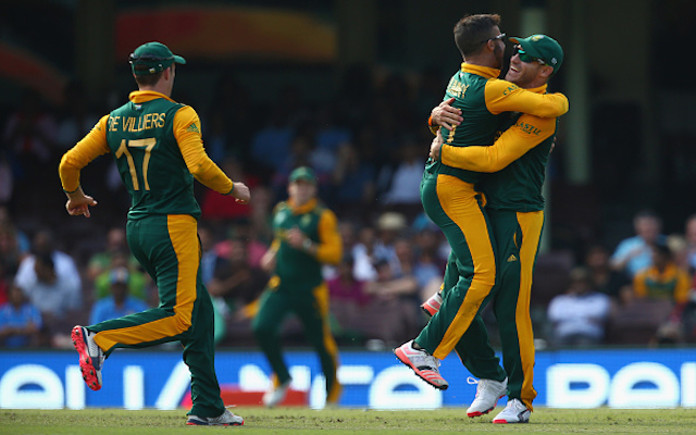 (Video) HAT-TRICK! South Africa spinner JP Duminy wreaks havoc on Sri Lanka in Cricket World Cup clash