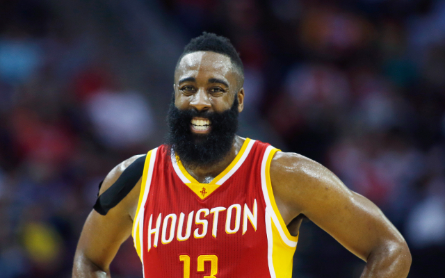 (Videos) NBA Playoffs Highlights: James Harden's triple-double sparks 21-point win for Houston Rockets
