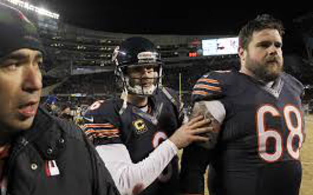 Really?! Chicago Bears G Matt Slauson says Jay Cutler can be an elite QB