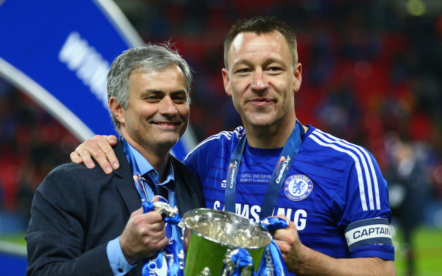 Chelsea star John Terry recalls phone call with Jose Mourinho that saved his career
