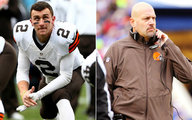"Cleveland Browns coach Mike Pettine says Johnny Manziel is the reason team won't be on HBO's ""Hard Knocks"""