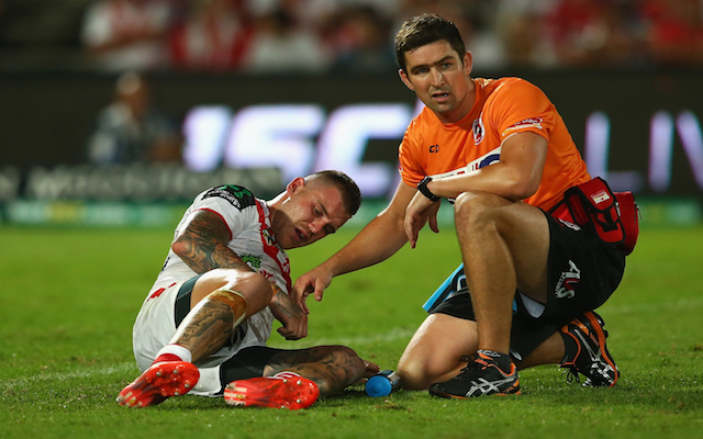 St George Illawarra star fullback may miss three months of NRL action following injury against Melbourne Storm