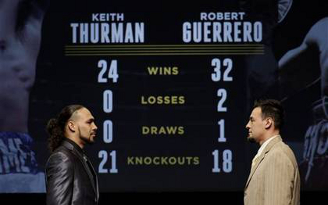 Keith Thurman vs Robert Guerrero: Fight time, preview and live stream