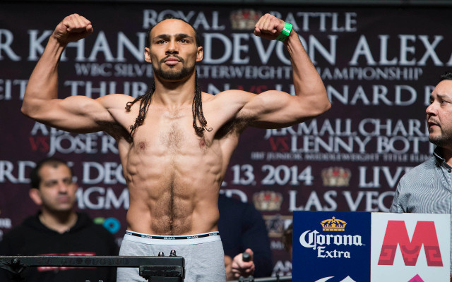 "Boxing news: Keith Thurman labels Amir Khan ""overrated"""
