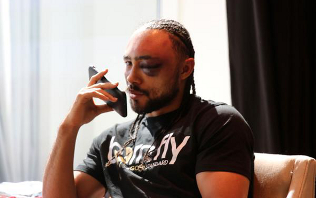 (Image) Boxing news: Keith Thurman leaves hospital after fracture scare