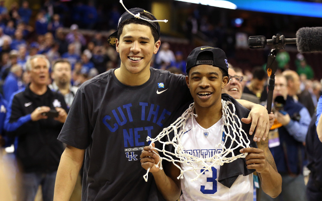 (Video) NCAA March Madness 2015: Kentucky foils Notre Dame's thrilling upset bid to reach Final Four