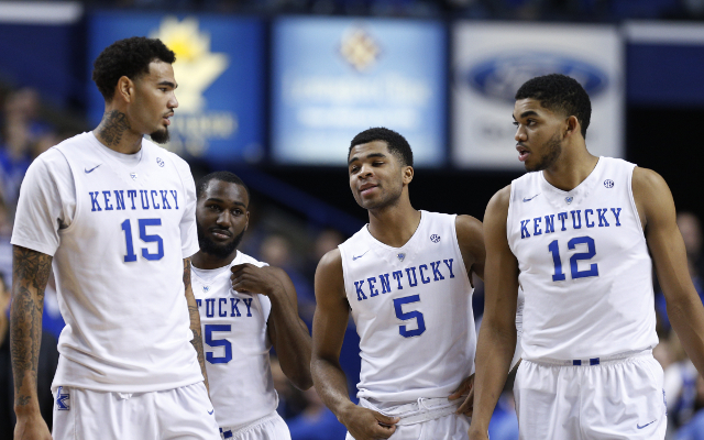 Kentucky star players decide to enter NBA Draft