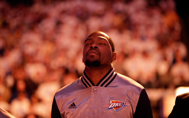 Kevin Durant angry with Oklahoma City Thunder's elimination from playoffs