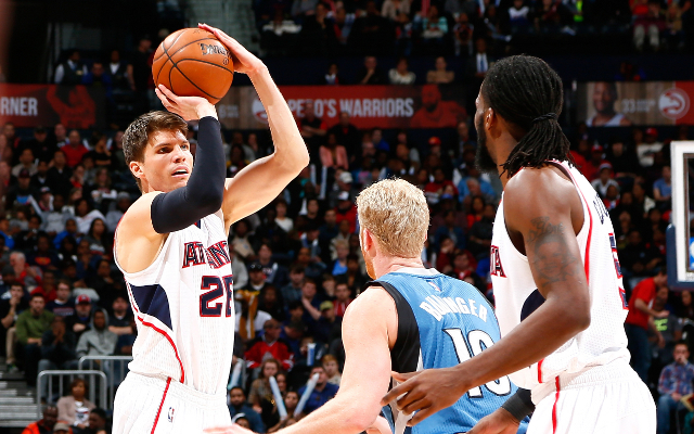 Atlanta Hawks SG Kyle Korver out for rest of playoffs with ankle sprain