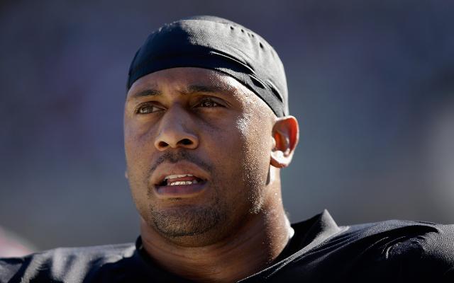 Oakland Raiders release veteran DE LaMarr Woodley after one season
