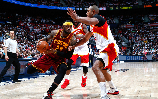 (Video) Atlanta Hawks seal thrilling win over rivals Cleveland Cavaliers