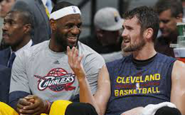 Kevin Love on LeBron James: We're not best friends