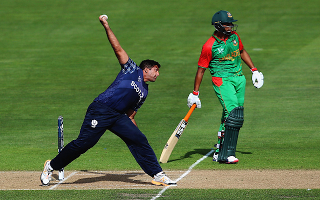 Cricket World Cup 2015: Scotland spinner Majid Haq sent home following racial tweet