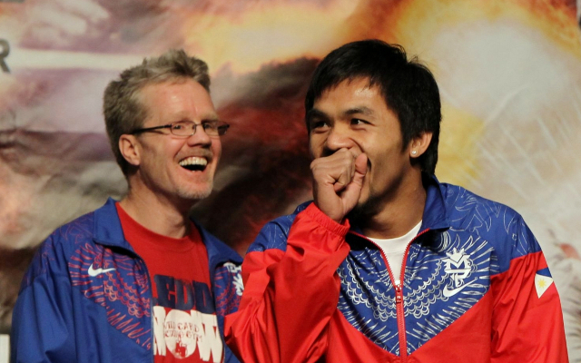 Freddie Roach wouldn't be surprised if Floyd Mayweather pulled out of fight