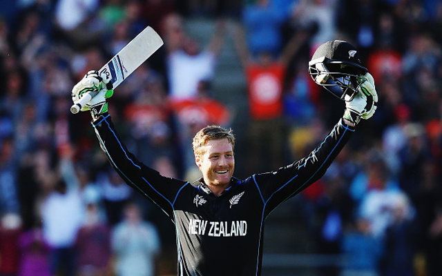 Twitter reacts as New Zealand's Martin Guptill breaks Cricket World Cup record