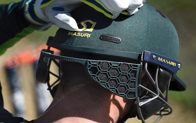 (Images) Australia trials new cricket helmet after Phillip Hughes death
