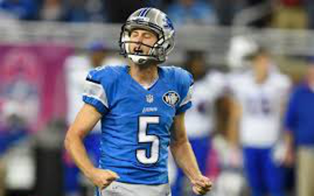 Detroit Lions re-sign Pro Bowl kicker Matt Prater to three-year contract