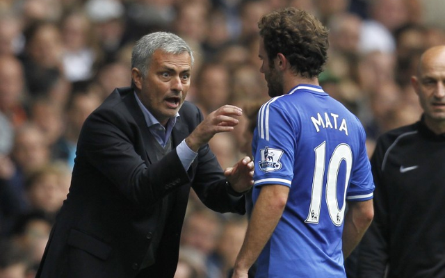 Chelsea star hails Jose Mourinho for SELLING Juan Mata to Manchester United