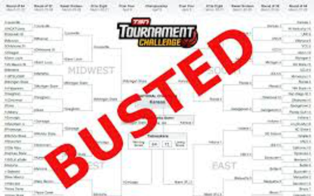NCAA March Madness 2015: How many perfect brackets are there remaining?