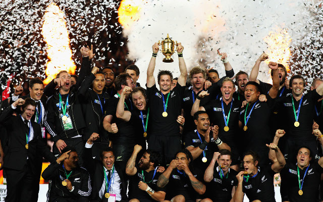 New Zealand Richie McCaw Rugby World Cup win