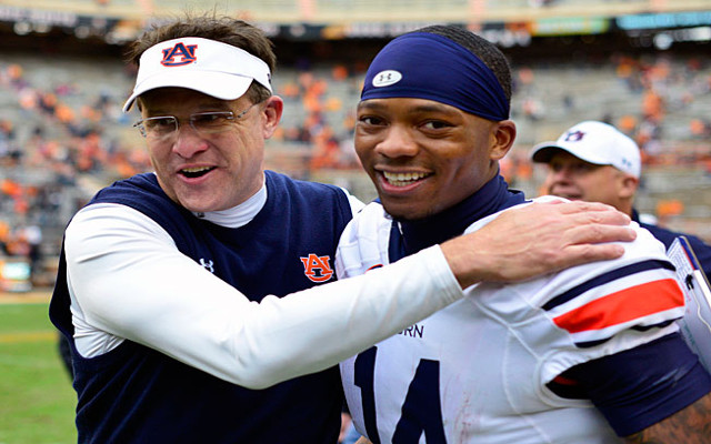 Auburn head coach says Nick Marshall could be NFL QB despite move to defense