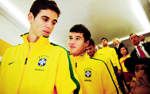 Brazil announce squad: Liverpool star Philippe Coutinho & Chelsea duo Oscar and Willian named